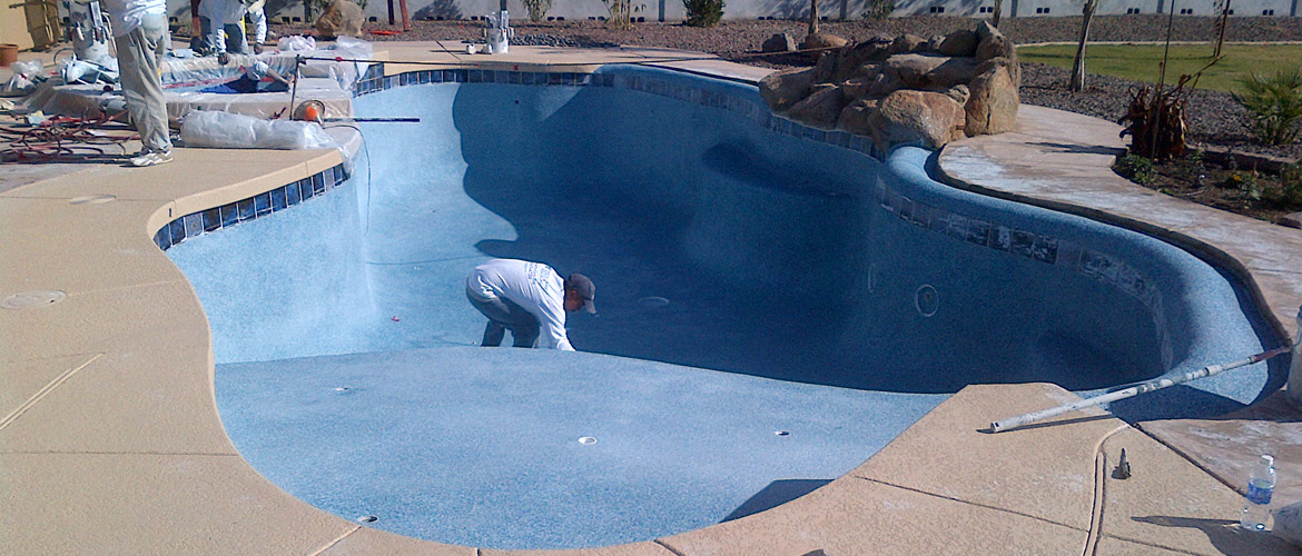 Pool Resurfacing in Miami, Broward, West Palm Beach - Bees Pool Services